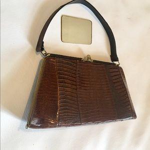 Handbags - Vintage 1960's Lizard Purse